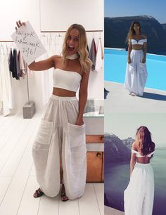 natalie rolt designs Grecian Linen Pants