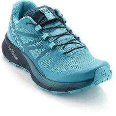 Salomon Women's Sense Ride Trail-Running Shoes Blue Bird/Deep Lagoon 6.5