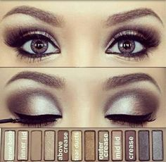 Ugh once again wanting this palette, such pretty eye makeup!