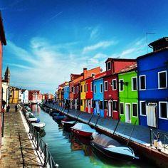 #Burano in #Venice