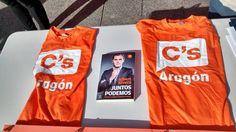 Domingo 8 de Febrero. Aquí está #Ciudadanos Zaragoza llevando el mensaje de Ciudadanos - C's Aragón a los Zaragozanos