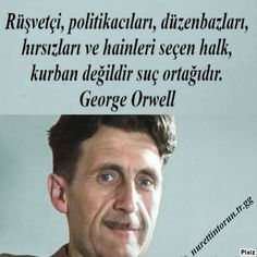 Book Quotes, Words Quotes, Sayings, George Orwell, Interesting Information, Bukowski, Change Quotes, Cool Words, Sentences