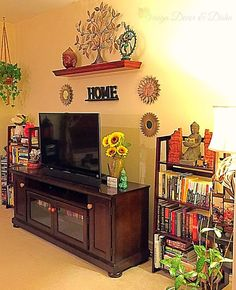 Design Decor & Disha: Family Room Decor, Indian Decor, Contemporary Decor, Book Shelves, Buddha Decor,