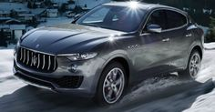 Luxury Cars : Illustration Description First Maserati SUV – Maserati Suv, Maserati Sports Car, Maserati Ghibli, Luxury Car Brands, Luxury Suv, Ferrari, Alfa Romeo, My Dream Car, Dream Cars