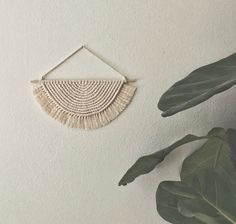Excited to share this item from my #etsy shop: Macrame wall decor / earring holder