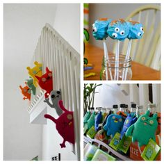 Ugly Doll 1st birthday theme