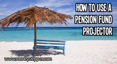 How to use a pension fund projector – Are you thinking about your pension and retirement? You should be! Predict your pension income and saving requirements
