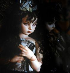 """Koitsukihime doll : Ariel sculpt. Collection of photographs """"Le pantheon de Luna"""" (2004)"""