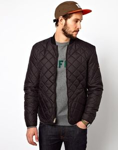 Image 1 of Penfield Landrum Quilted Bomber Jacket
