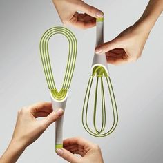 50 Useful Kitchen Gadgets You Didn't Know Existed. This whisk would be so much easier to wash!!!