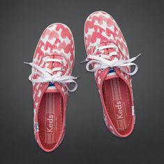 Girls Hollister + Keds Champion Heart Print Sneakers