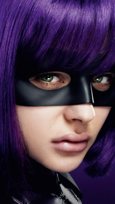 Hit Girl (Kick-Ass)!!! Loved the way she flies with the winds !!!