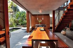 gorgeous. so warm and contemporary.