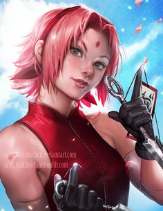 I love sakura, she's become such an awesome female character in shippuden. Trying something out here *_*;; Video Process + PSD+high res of this piece will made available through...