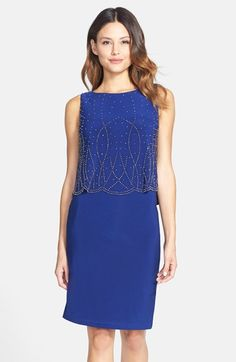 58bd1af376b Patra Embellished Jersey Sleeveless Popover Dress available at  Nordstrom   Patra Starfish Bracelet