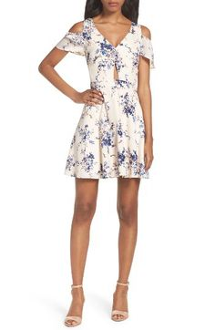 Ali & Jay Ali & Jay Chasing Butterflies Cold Shoulder Dress available at #Nordstrom