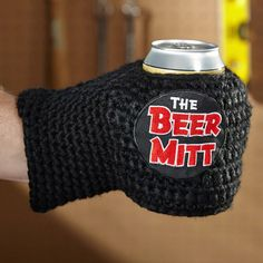 Knitted Beer Mitt Gifts For Beer Lovers, Drink Sleeves, Best Gifts, Beanie, Beanies, Beret