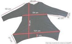 Plus Size Lagenlook Patterns - Bing Images büyük beden kalıp Diy Clothing, Sewing Clothes, Dress Sewing Patterns, Clothing Patterns, Shirt Patterns, Fashion Sewing, Diy Fashion, Diy Kleidung, Refashion