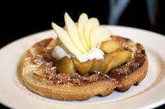 Polenta waffle   #ParksandRec