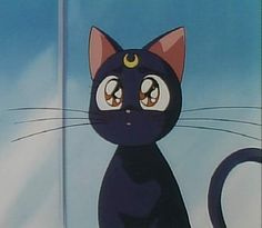 Luna. Sailor Moon. I never watched it but I'm way down with anime cats ^^