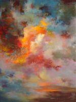 Rikka Ayasaki is awesome. artists, acrylic paintings, abstract art, color, sunsets, saatchi, twilight, acrylics, rikka ayasaki