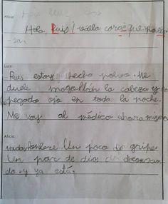 El blog de la maestra Berta: DICTADO DE PARED.