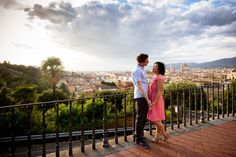 Engagement Session in Florence