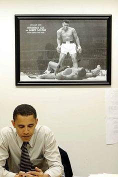 "whitehouse:   ""Muhammad Ali was The Greatest.... - Fat On Fleek"