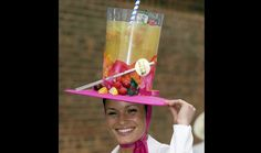 Beauty is a thing of the past: Crazy Hats Silly Hats, Funny Hats, Crazy Hat Day, Crazy Hats, Royal Ascot Hats, Hat Stores, Derby Party, Hat Party, Kentucky Derby Hats