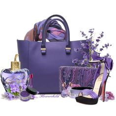 Shades of Purple Accessories