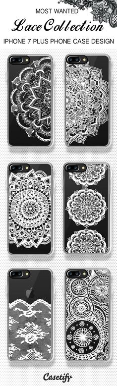 Most wanted iPhone 7 case and iPhone 7 Plus case lace collection, shop them all here >>  https://www.casetify.com/artworks/qXqCIUgo1w #iphone7case,