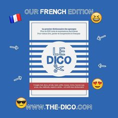 This is our #French edition artwork for the #dictionary.  @thefrenchdico #TheDico