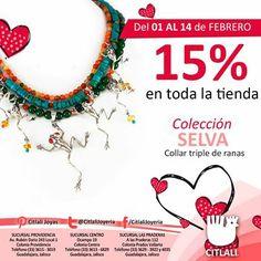 Mañana es San Valentín, regala joyería Citlali.