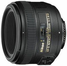 Nikon Nikkor AF-S 50mm f/1.4G lens