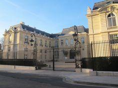 Château de la Muette (1922) 2, rue André Pascal Paris 75016. Architecte : Lucien Hesse. Siège de l'OCDE.