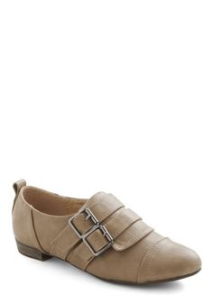Ink Twice Flat in Taupe, #ModCloth $37.99