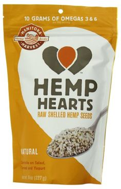 Manitoba Harvest Hemp Hearts Shelled Hemp Seed, 8 Ounce Bags (Pack of 2):Amazon:Grocery & Gourmet Food