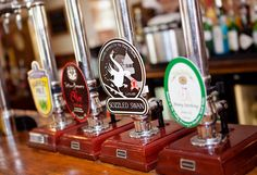A few of our Ales we offer and our famous Sozzled Swan!