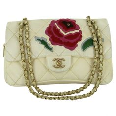 CHANEL-timeless-eggshell-leather-and-camellia-embroidery-Beige