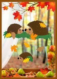 Risultati immagini per herbst paper craft Autumn Crafts, Autumn Art, Christmas Crafts For Kids, Simple Christmas, Decoration Creche, Class Decoration, School Decorations, Kids Crafts, Diy And Crafts