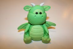 Fondant / Gumpaste Baby Dragon Cake Topper