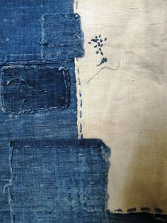 textileandtrim:    antique boro from japan