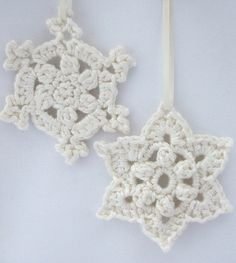 Royal Crown Snowflake Free Crochet Pattern