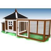 Found it at Wayfair - The Prairie Home Poultry Hutch