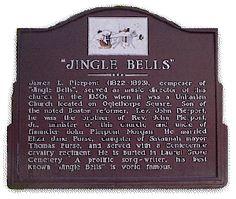 The Jingle Bells Church, Savannah, GA where James Pierpont, songwriter of Jingle Bells, was the organist.