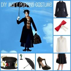 DIY Mary Poppins Costume – Right From Your Closet