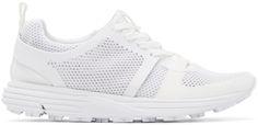 Marcelo Burlon County of Milan: White Mesh Conchali Sneakers | SSENSE