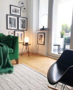 Mid Century Livingroom | SoLebIch.de Foto: Lisa Krüger #solebich #wohnzimmer  #ideen #skandinavisch #Möbel #Einrichten #modernes #wandgu2026