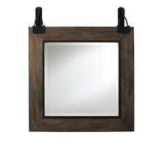 Carleton Mirror #potterybarn