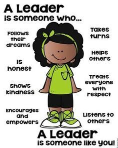 Leader Poster - Zurück in die Schule [someone who] - Back to School Classroom Behavior, Classroom Rules, Classroom Management, Behavior Goals, Social Skills Lessons, Coping Skills, Teaching Kids, Kids Learning, Leader In Me